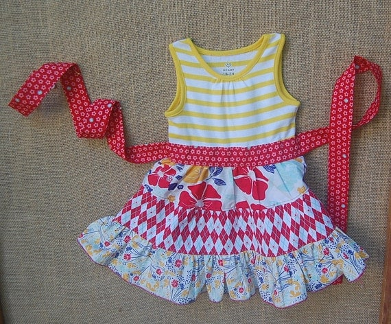 Red, white, blue and.... YELLOW  Ready-To-Ship size 24m