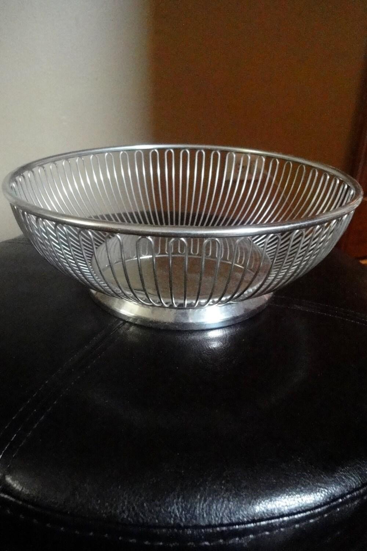Sale alessi wire basket international stainless steel fruit - Alessi fruit basket ...