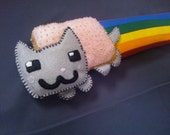 Nyan Cat Keyboard Wrist Rest.