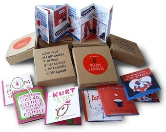 SALE!!!! Accordion stories BOX (collection of six titles)  / love stories