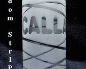 Personalized Frosted Decorative Vase
