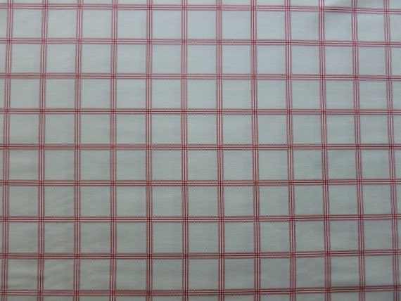 Weekend Clubhouse 2012 Red Delicate  Dot Plaid by Michael Miller Fabrics- Half Yard SPECIAL