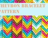 Make Your Own Products to Sell: Pattern Tutorial Chevron Friendship Bracelet