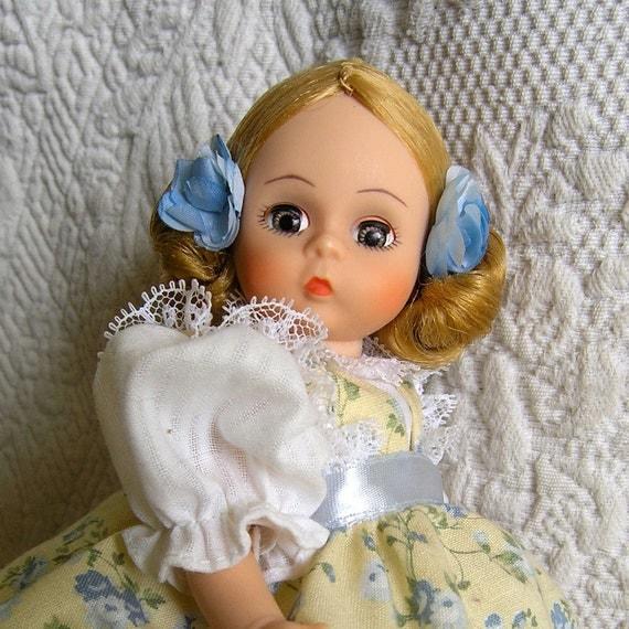 Amy Little Women MADAME ALEXANDER 8 inch doll 1990 set, MIB
