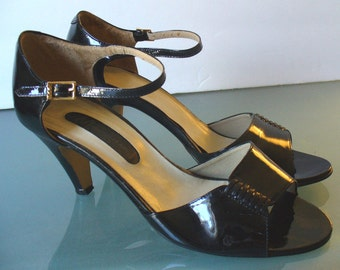 Vintage Marquise Made in Italy Patent Leather Shoes 7B