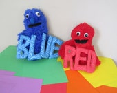 Mona's Color Hand Puppets