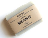 Bentonite Soap, Oily skin soap, All Natural Soap, Unscented Soap, Vegan Soap, Cold process soap, handmade soap
