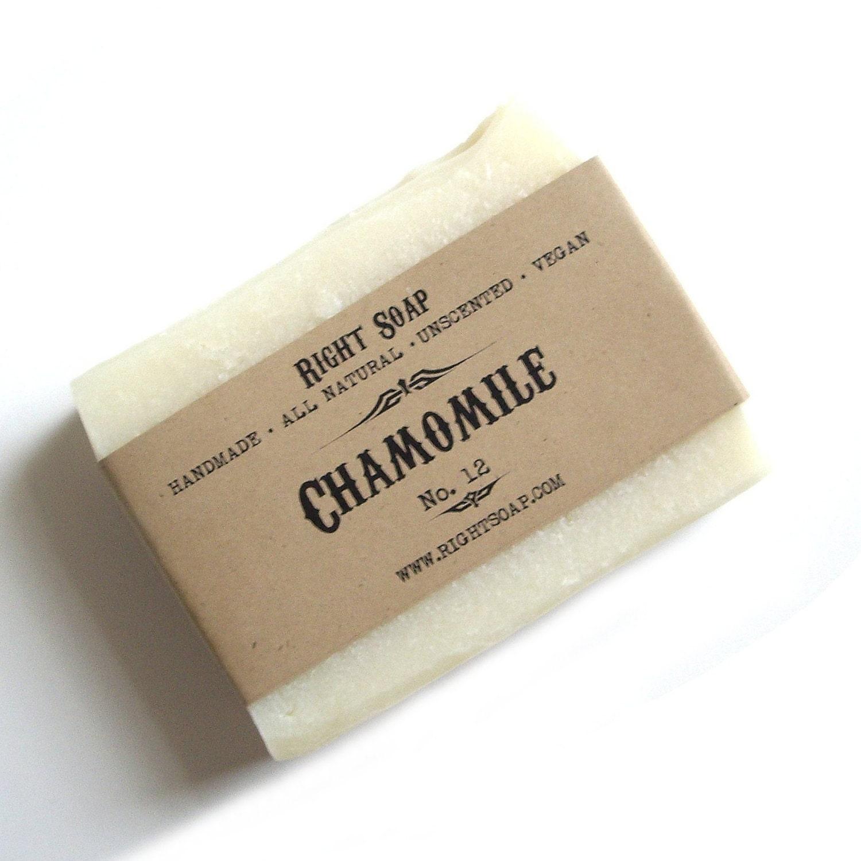 Herbal soap chamomile soap sensitive skin soap natural