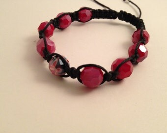 Almost Ruby Bracelet