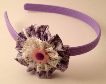 Lavender Florrette Hairband