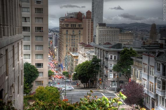 Houses of Nob Hill City View