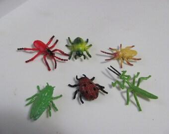 6 Icky Bugs Refrigerator Magnet Set