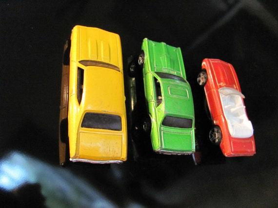 Vintage Hot Wheels Cars Refrigerator Magnet Set