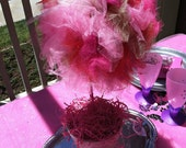 Fairy Birthday Party/ Princess Party/ Fairy Party/ Fairy Wand/ Centerpiece