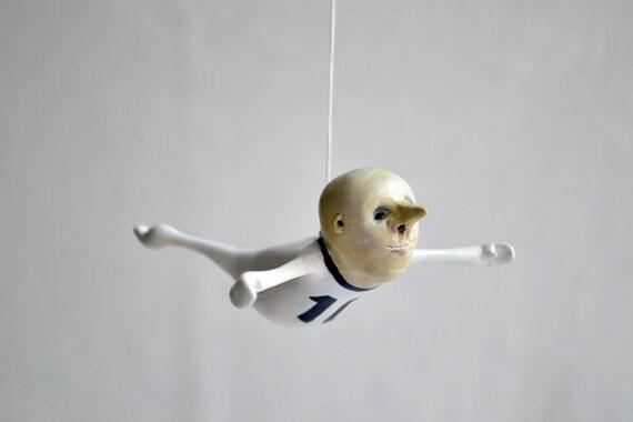 Hanging sculpture, Mobile- Little Colin