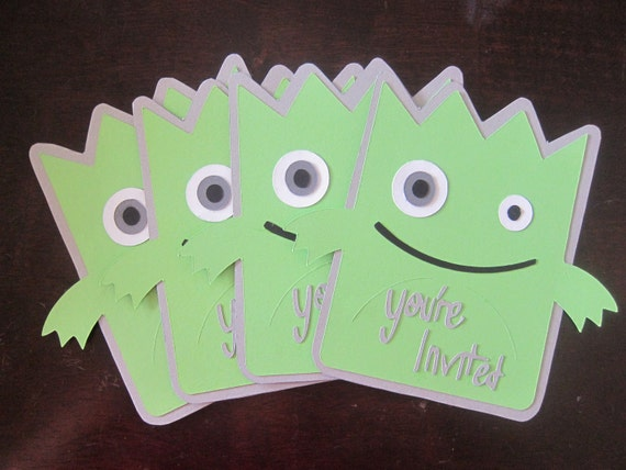 Little Monster Invitations