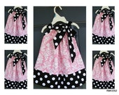 buy any 4 and get 1 free Custom Made Pillowcase Dress--sizes available NB-3T--Michael Miller Dandy Damask
