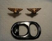 Imperial aquila stud earrings
