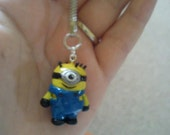 Despicable Me inspired pendant (Necklace/ Keyring)