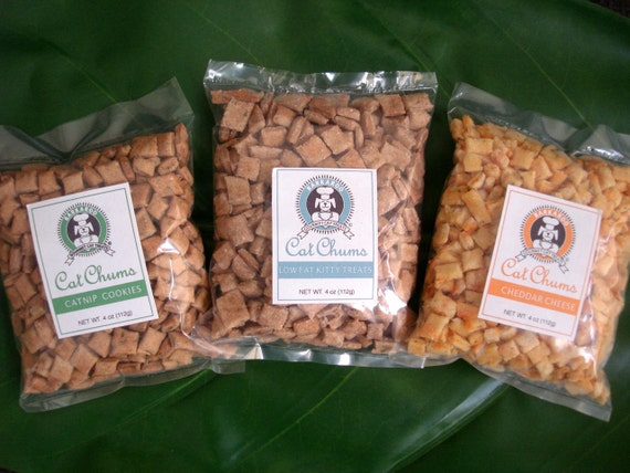 Pick Your Flavor Cat Treats 4oz
