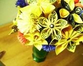 Steelers Paper Flower Bouquet