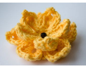 Crochet Pattern - Water Lily Flower