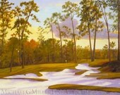 Deepening Shadows, the Tenth at Augusta National
