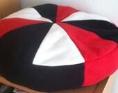 Fleece tricolor Pillow