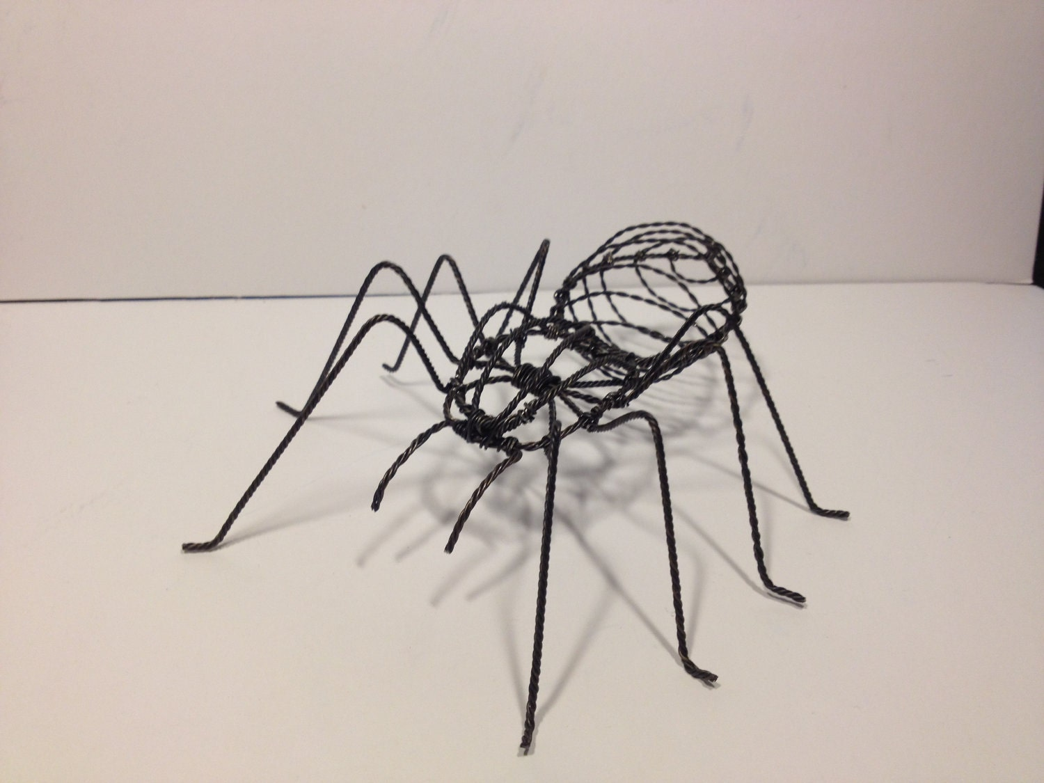 Items Similar To 9 Quot Taranchula Wire Sculpture On Etsy
