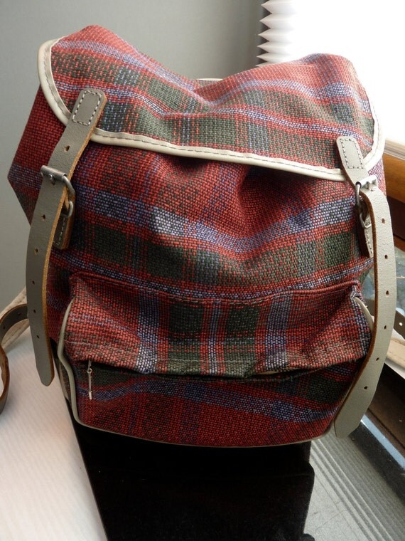 German Backpack Rucksack made by Kurz  excellent shape vintage boho