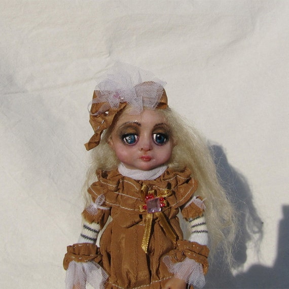Inga OOAK Art Doll