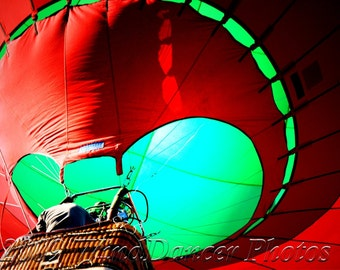 Hot Air Ballonist - Fine Art Photo -- Hot Air Balloon Photo - Travel Photography - Wall Art - Gift for Men - Gift idea for Balloonists