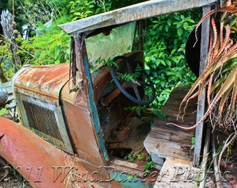 Old Ford Flatbed Truck - Fine Art Photo - Rusty Ford - Vintage Truck Photo - Americana - Retro - Gift for Men - Man Cave - Old Truck - Rust
