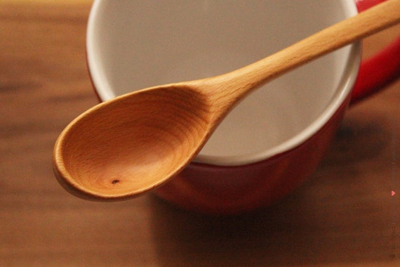 Wooden Serving Tasting Sauce Measuring Spoon made of Beech wood