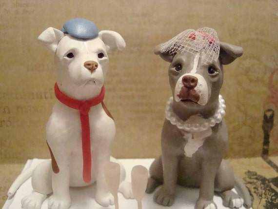 custom wedding cake toppers with dogs items similar to personalized wedding cake topper on etsy 13262