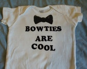 Bowties Are Cool Doctor Who -inspired onesie