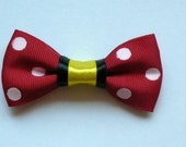 Minnie Mouse inspired bow