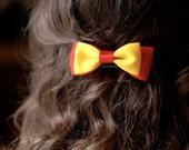 Gryffindor themed bow