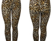 Rockabilly Leopard Print Leggings