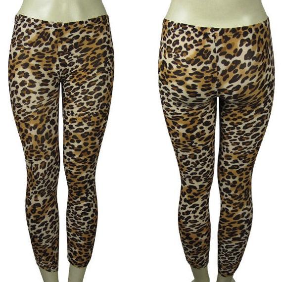 Rockabilly Leopard Print Leggings