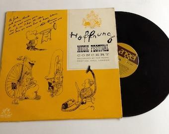 HOFFNUNG Music Festival LP Rare concert vinyl record Angel 35500 SIGNED unique