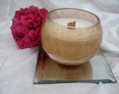 Gift for Her, Scented Soy Candle, Organic Soy Candle With Wooden Wick 11 oz.