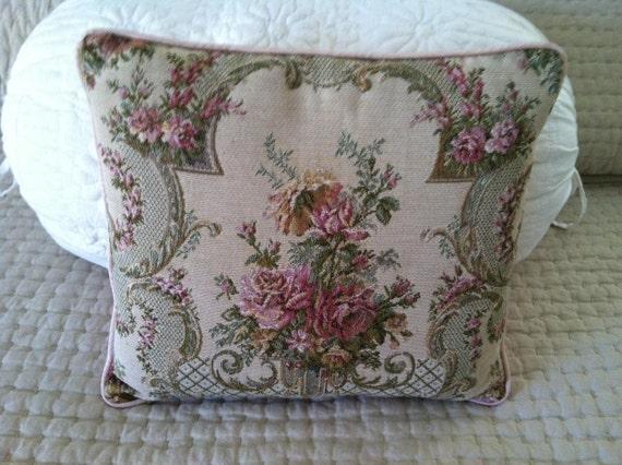 Victorian Tapestry Pillows : victorian tapestry boudoir pillow