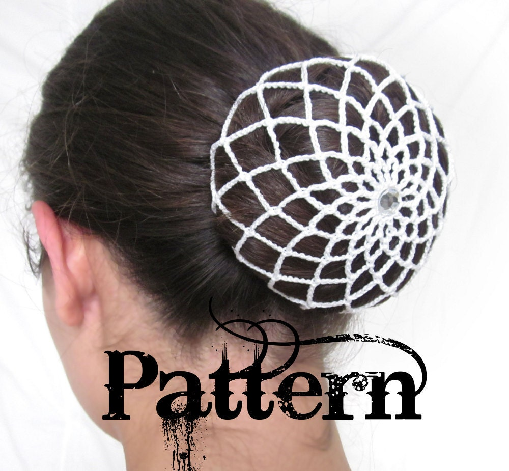 Crochet Hair Net Bun Cover Pattern : Request a custom order and have something made just for you.