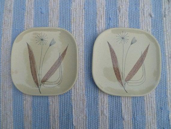 Franciscan Trio Dessert Plates