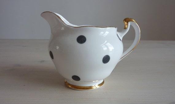 1960's Vintage Royal Vale Bone China Milk Jug - Made in England