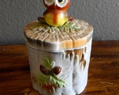 Adorable Owl Jar -1970's