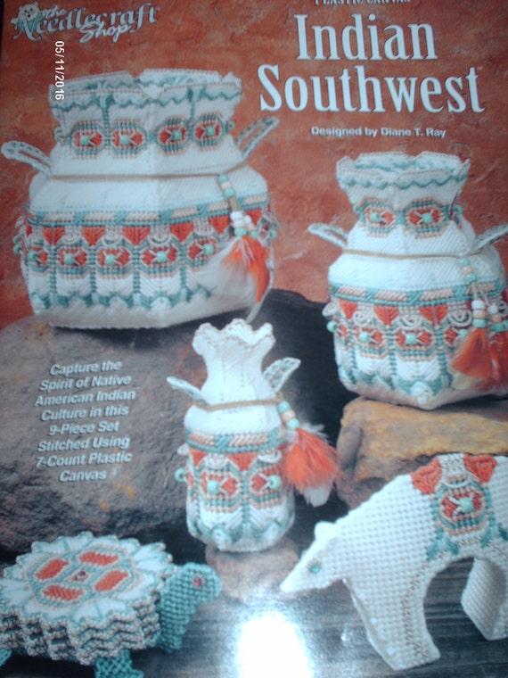 Indian Southwest Plastic Canvas