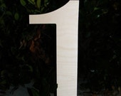 Birthday Large wooden number- Photography prop- DIY- Large 20""