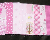 Pinky Charm Pack - 43  5 inch squares